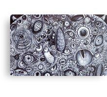 Wazowski with Every Eye Metal Print