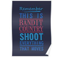 Bandit Country Poster