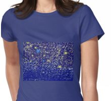 A billion light years away - Star scribble Womens Fitted T-Shirt