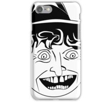 Tom Baker Black & White Portrait iPhone Case/Skin