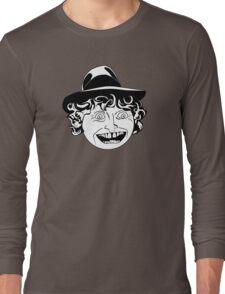 Tom Baker Black & White Portrait Long Sleeve T-Shirt