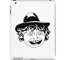 Tom Baker Black & White Portrait iPad Case/Skin