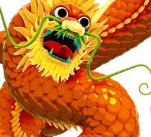 Dragon Clutching Pearl Sticker