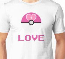 Love Ball Pokeball Unisex T-Shirt
