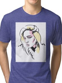 Star girl Tri-blend T-Shirt