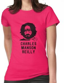 Charles Manson Reilly W/ Text T-Shirt