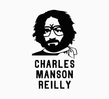 Charles Manson Reilly W/ Text Unisex T-Shirt