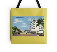 Fifties style Miami Lincoln road Exclusive shopping Tote Bag