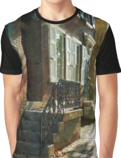 New Castle Delaware Street Graphic T-Shirt