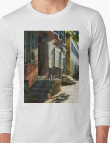 New Castle Delaware Street Long Sleeve T-Shirt