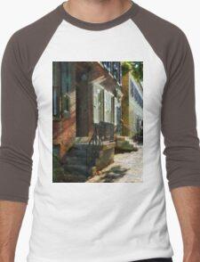 New Castle Delaware Street Men's Baseball ¾ T-Shirt