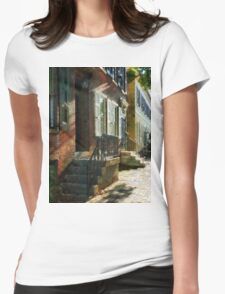 New Castle Delaware Street Womens Fitted T-Shirt