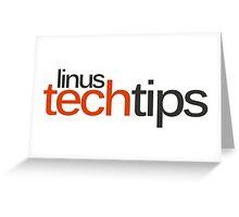 Linus Tech Tips Greeting Card