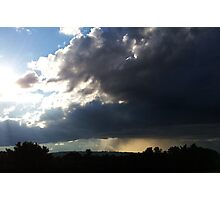 Storm in the Distance Photographic Print