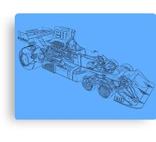 Tyrell P34 drawing mode Canvas Print