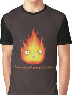 Fire Demon Graphic T-Shirt