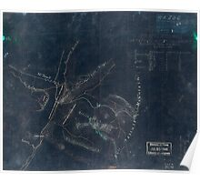 253 Sketch of the battle of McDowell on Thursday May 8th 1862 Jackson Inverted Poster