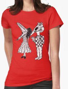 beetlejuice beetlejuice beetlejuice Womens Fitted T-Shirt