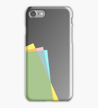 Modern material design iPhone Case/Skin