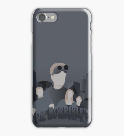Doctor Horrible's Sing-Along Blog iPhone Case/Skin
