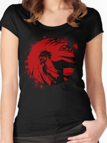 Hollow Ichigo - Thirst for Blood Women's Fitted Scoop T-Shirt