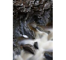 carved in rock Photographic Print