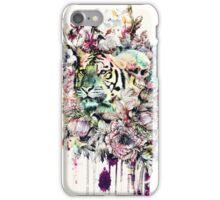 Interpretation of a dream - Tiger iPhone Case/Skin