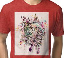Interpretation of a dream - Tiger Tri-blend T-Shirt