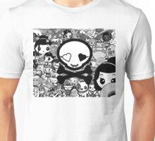 mikoto's Black & White Unisex T-Shirt
