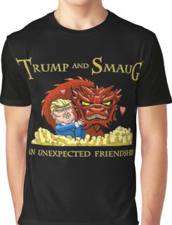 Trump and Smaug: An Unexpected Friendship Graphic T-Shirt
