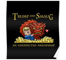 Trump and Smaug: An Unexpected Friendship Poster