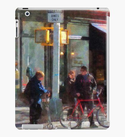 Manhattan NY - Bike Lane iPad Case/Skin