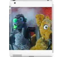 furry on a slingshot roller coaster in las vegas, 2005 iPad Case/Skin
