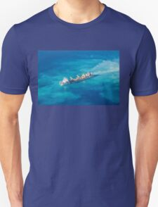 Ship creating new Atoll in the Maldives Unisex T-Shirt