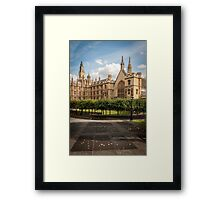 The Palace of Westminster Framed Print