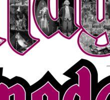 Attractions of Magic Kingdom Sticker