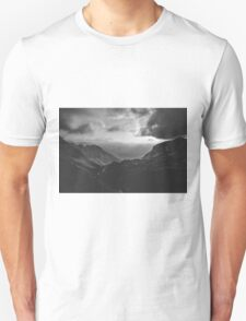 Total freedom - black and white landscape photography Unisex T-Shirt