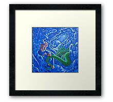 Cave Drawings Framed Print