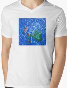 Cave Drawings Mens V-Neck T-Shirt