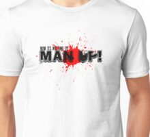 TIME TO MAN UP -Book Of Mormon Unisex T-Shirt