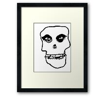 crimson ghost Framed Print