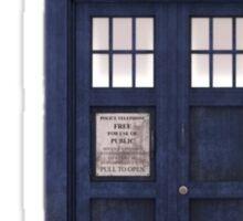 Tardis- Doctor Who Sticker
