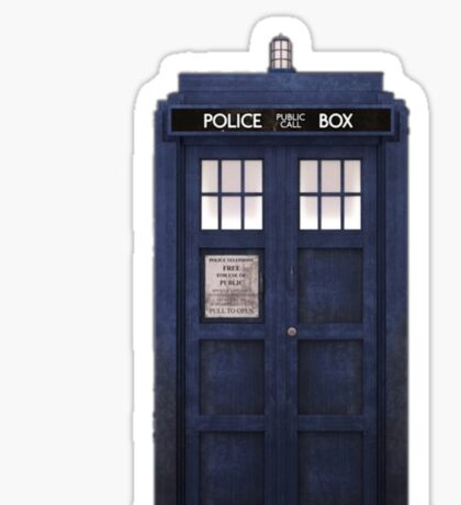 Tardis- Doctor Who Sticker