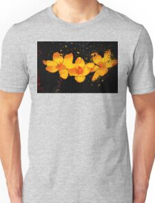 underwater flora - color  Unisex T-Shirt