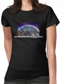 Attractions of Epcot Womens Fitted T-Shirt