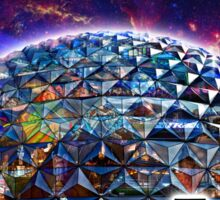 Attractions of Epcot Sticker