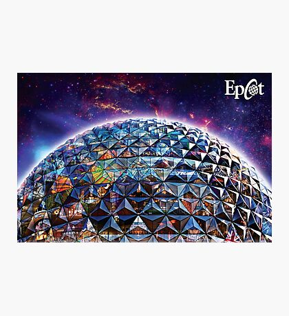 Attractions of Epcot Photographic Print