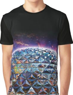 Attractions of Epcot Graphic T-Shirt