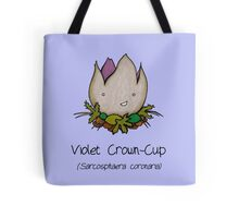 Violet Crown-Cup (with smiley face ;)  Tote Bag