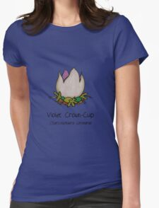 Violet Crown-Cup (no smiley face) Womens Fitted T-Shirt